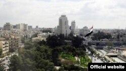 Pamje nga Ambasada Ruse në Damask