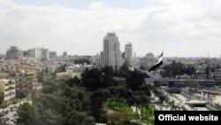 Pamje e Ambasadës së Rusisë në Damask të Sirisë