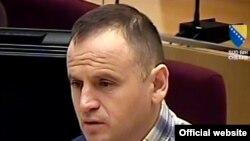 Veselin Vlahović Batko u sudnici 24. marta 2011
