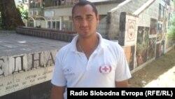 Миодраг Цекиќ, координатор на службата за спасување на вода во Охрид.