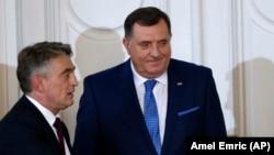 Milorad Dodik i Željko Komšić, članovi Predsjedništva BiH
