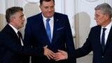 Izbor Željka Komšića (lijevo) za člana Predsjedništva BiH izazvao burne reakcije dijela Hrvatske