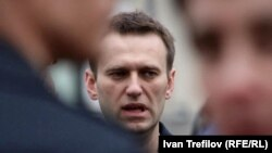 Russian opposition leader and anticorruption blogger Aleksei Navalny