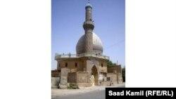 احد مساجد بغداد التي بحاجة الى تعمير