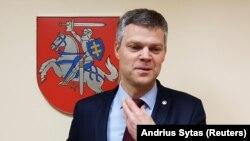 Глава литовской контрразведывательной службы Дарюс Яунишкис.