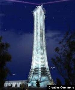 Один из новых стамбульских небоскребов