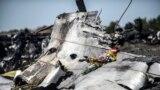 На місці падіння уламків літака рейсу MH17, Донецька область, липень 2014 року