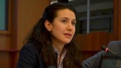 Liliana Barbăroşie în dialog cu ministra justiţiei Olesea Stamate
