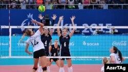2015-ci il Avropa Oyunlarında Azərbaycanın volleybol yığması yarımfinala çıxmışdı