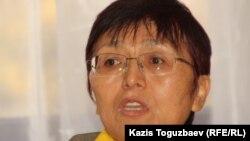 Психолог Анна Құдиярова. Алматы, 21 қазан 2011 жыл.
