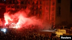 Пратэст на плошчы Таксім ў Стамбуле 13 чэрвеня