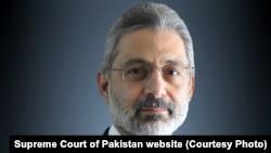 FILE: Supreme Court Justice Qazi Faez Isa