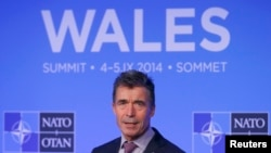 "NATO Secretary-General Anders Fogh Rasmussen presided over the Wales summit. ""Things have changed dramatically inside NATO,"" Lauri Lepik, Estonia's ambassador to the alliance, tells RFE/RL."