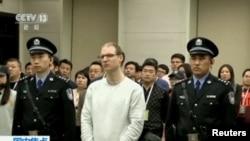 Robert Schellenberg, jedan od osuđenih Kanađana na smrt, 15. januar 2019.