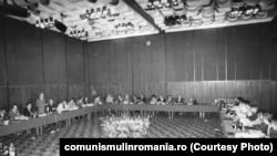 26 mai 1981. Sedința CAER pe probleme de statistică