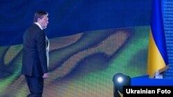 Віктор Янукович перед початком прес-конференції