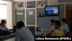 Videoconferinţă cu Oana Lungescu