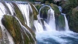 Štrbački buk vodopad na rijeci Uni