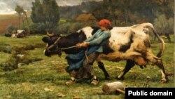 Жульен Дзюпрэ, «На пашы» (1882)