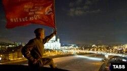 "Акция протеста в связи с опросом телеканала ""Дождь"""