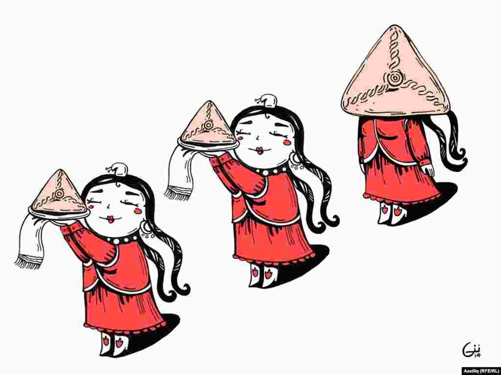 """""""Превратилась в треугольник"""" В некоторых татарках читатели заметили умение прислуживать и отключать свою голову при этом"""