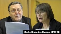 Srđan Dizdarević i Nataša Kandić