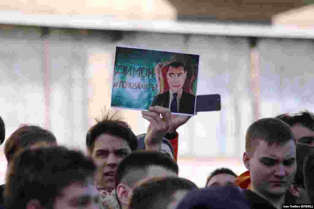 Навальный был задержан вскоре после начала шествия по Тверской улице.