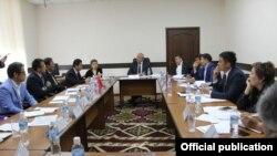 Встреча руководства ГКПЭН с представителями китайской компании. 19 апреля 2019 года.