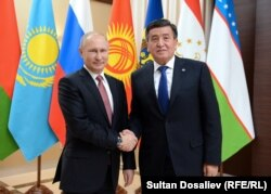 Владимир Путин жана Сооронбай Жээнбеков, 26-декабрь, 2017-жыл