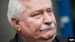 Lech Walesa, 72, has previously acknowledged signing a commitment to be an informant, but has insisted he never acted on it. (file photo)