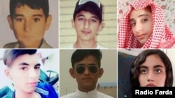 Six of 18 underage protesters confirmed killed by security forces in Iran's November unrest.