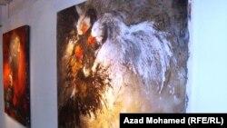 من اعمال الفنان آزاد حمي