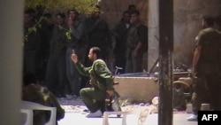 Сирийские правительственные войска штурмуют один из районов города Дераа 20 апреля