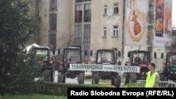 Novi Sad uoči protesta