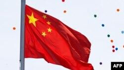 Китайский национальный флаг.