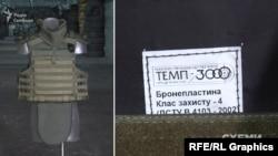 Бронежилет виробництва «Темп-3000»