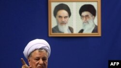 "Former Iranian President Akbar Hashemi Rafsanjani: ""Take steps toward the creation of unity."""