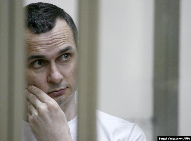 Украинский режиссер Олег Сенцов. Июль 2015 года