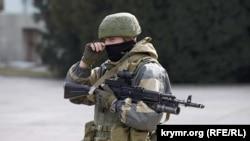 Захоплення Криму російськими військовими, 1 березня 2014 року
