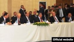 حوار القادة في اربيل 2010