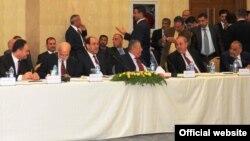 احد اجتماعات القادة في اربيل