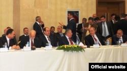 حوار القادة في اربيل تشرين الثاني 2010