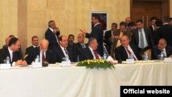 قادة عراقيون في أربيل