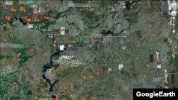 Jedna od google mapa, ilustrativna fotografija