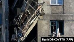 Место взрыва в Магнитогорске