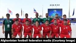 آرشیف، تیم ملی فوتبال ساحلی افغانستان