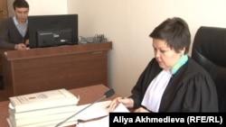 Судья Сара Жанбырбаева. Талдыкорган, 14 января 2015 года.