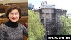 Генпрокурорка Ірина Венедіктова та її чоловік Денис Колесник у своїх деклараціях за минулий рік зазначили, що проживали поблизу Харкова