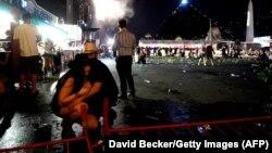 Las Vegas-da atışmalardan sonra. 1okt2017