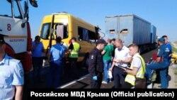 Смертельное ДТП на трассе «Таврида» в Белогорском районе